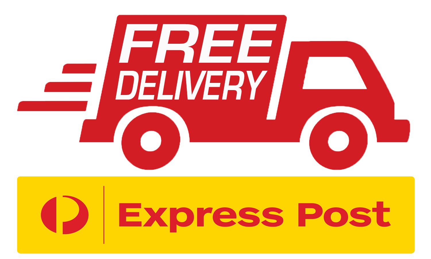 Free Express Post Delivery